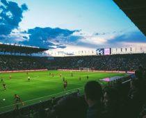 terrain d'un stade de football
